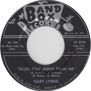Band Box 349A - Lynne, Gary - Blues