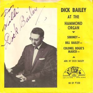 Band Box 350 - Bailey, Dick - At the Hammond PS