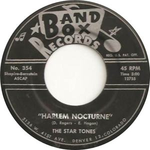 Band Box 354 - Star Tones - Harlem Nocturne