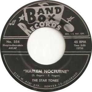Band Box 354 - Star Tones - Harlem Nocturne