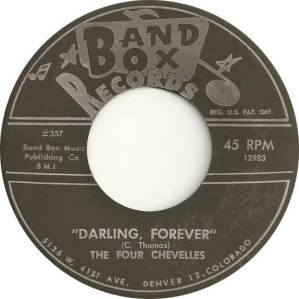 Band Box 357B - Four Chevelles - Darling Forever
