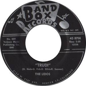 Band Box 359 - Lidos - Trudi R