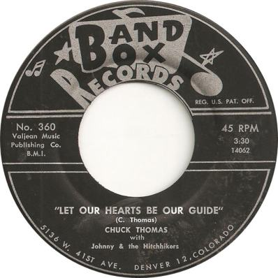 Band Box 360 - Thomas, Chuck with Johnny & Hitchhikers - Let Our Hearts Be Our Guides