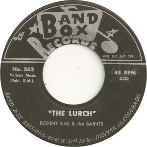 Band Box 362 - Kae, Ronny & Saints - The Lurch