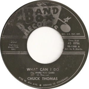 Band Box 365 - Thomas, Chuck - What Can I Do