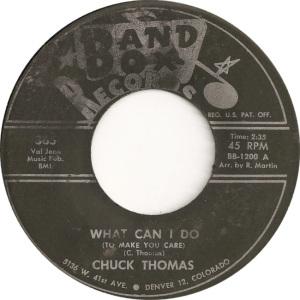 Band Box 365 - Thomas, Chuck - What Can I Do