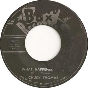 Band Box 365 - Thomas, Chuck - What Happened