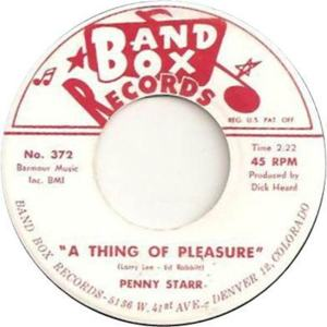 Band Box 372 - Starr, Penny - A Thing of Pleasure