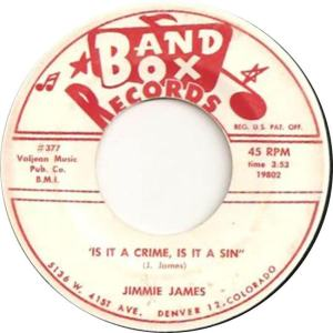 Band Box 377 - James, Jimmie - Is It a Crime Is It a Sin