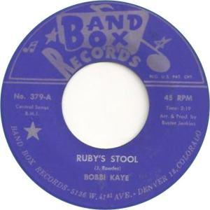 Band Box 379 - Kaye, Bobbi - Ruby's Stool