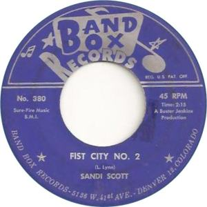 Band Box 380 - Scott, Sandi - Fist City No. 2