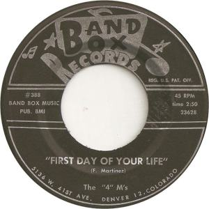 Band Box 388 - Four M's - First Day of Your Life