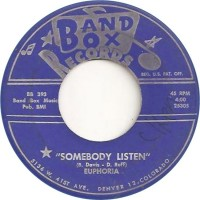 Band Box 393 - Euphoria - Somebody Listen