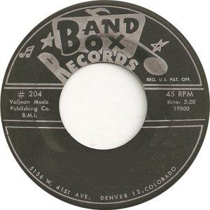 BAND BOX LABELS (2)