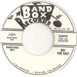 BAND BOX LABELS (4)