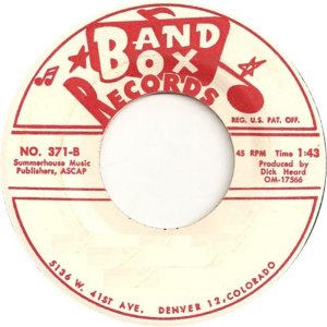 BAND BOX LABELS (8)
