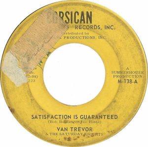 CORSICAN 138 - TREVOR VAN - 1964 A