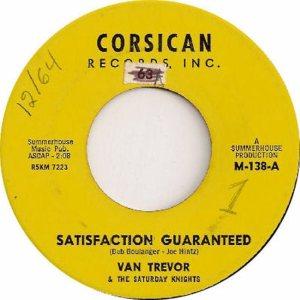 CORSICAN 138 - TREVOR VAN - 1964 B