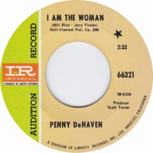 DEHAVEN PENNY - LIBERTY 66321 - RA