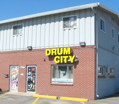 Drum City today - 44th Ave in Wheat Ridge