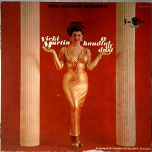 Finer Arts 102 LP - Martin, Vicki - A Handful of Dust