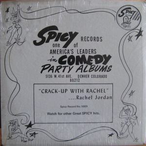Jordan, Rachel - Spicy 5002 LP - Jordan, Rachel - Crack Up F (2)