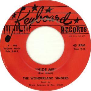 Keyboard 703 - The Wonderland Singers - Hide Me