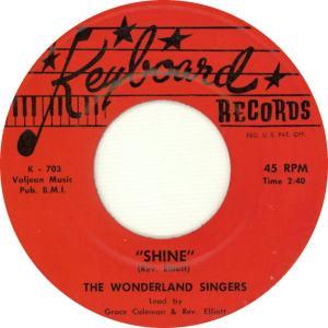 Keyboard 703 - The Wonderland Singers - Shine