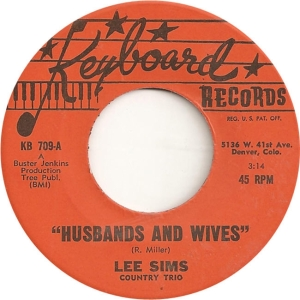 Keyboard 709 - Sims, Lee - Husbands & Wives