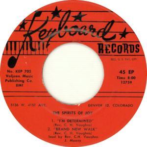 Keyboard EP 702 - Spirits of Joy - Side 1