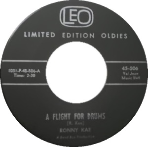 LEO 506 - Kae, Ronny - A FLIGHT FOR DRUMS