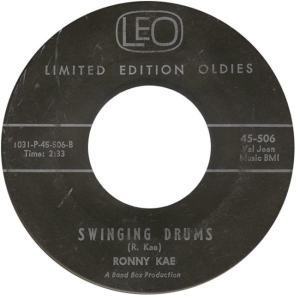 LEO 506 - Kae, Ronny - Swinging Drums