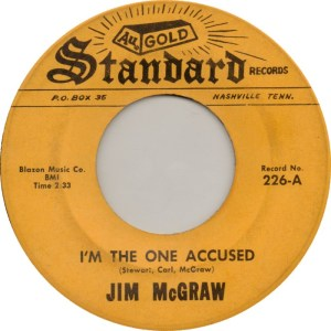 MCGRAW JIM - STANDARD 226 A - 1967