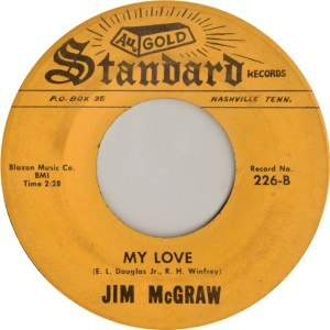 MCGRAW JIM - STANDARD 226 B - 1967
