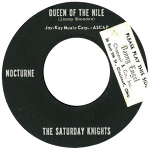 NOCTURNE - SATURDAY KNIGHTS A BW SEA MIST