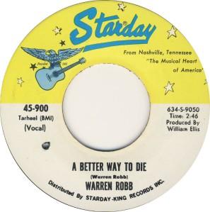 ROBBE WARREN- STARDAY 900 70 A