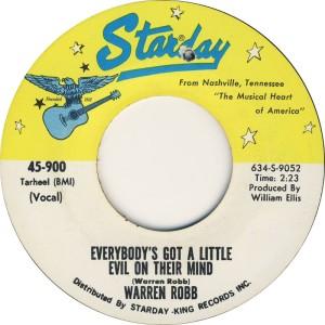ROBBE WARREN- STARDAY 900 70 B