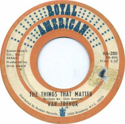 ROYAL AMERICAN 280 - TREVOR VAN - 1968 A