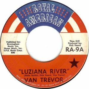 ROYAL AMERICAN 9 - TREVOR VAN - 1970 A