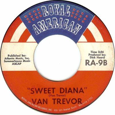ROYAL AMERICAN 9 - TREVOR VAN - 1970 B