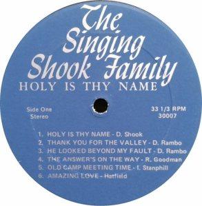 SHOOK FAMILY FOUR