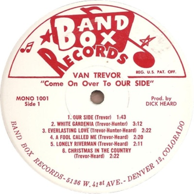 Trevor - Band Box 1001 SD1 - Trevor, Van - Come On Over to Our Side (2)