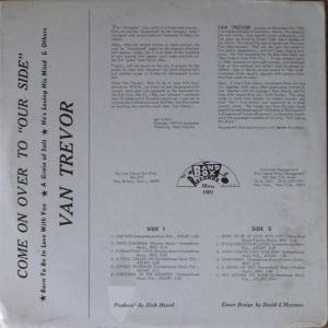 Trevor - Band Box LP 1001 - Van Trevor - Come On Over to Our Side F (2)