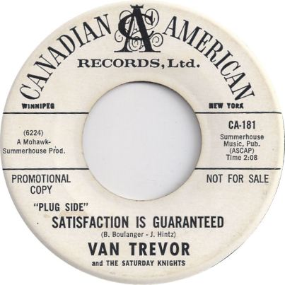 TREVOR VAN - CANADIAN AMERICAN 181 A