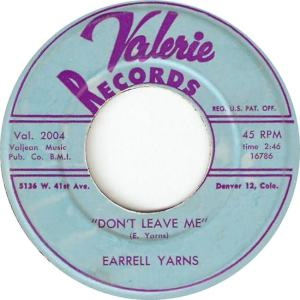 Valerie 2004 - Yarns, Earrell - Don't Leave Me R
