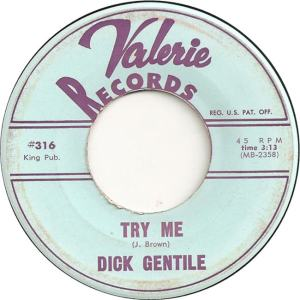 Valerie 316 - Gentile, Dick - Try Me