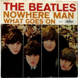 Beatles - Capitol 5587 - Nowhere Man - PS