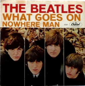 Beatles - Capitol 5587 - What Goes On - PS