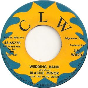 CLW 6577 - Minor, Blackie & Floyd Sisters - Wedding Band