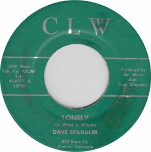 CLW 6577 - SPANGLER DAVE - ADD A